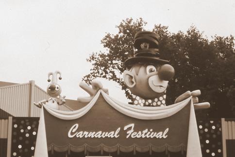 Carnaval Festival (foto exclusief voor Erwins Eftelingsite)